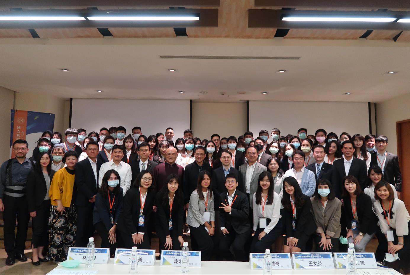 109學年度商學院企業導師計畫師徒見面會 八位EMBA業師現身傳承經驗